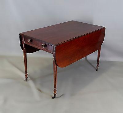 Englischer Salon-Klapptisch Viktorianischer Stil 20. Jh. 7865048