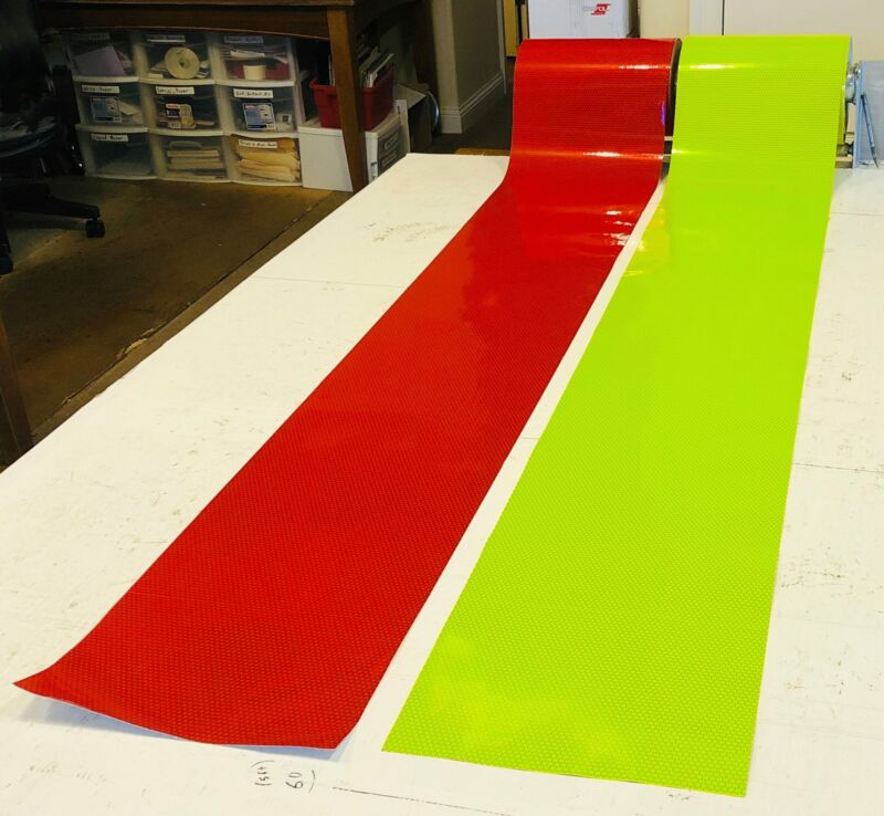 12 Inch Wide V98 Oralite Reflective Tape - BY THE FOOT - ($10 per foot)