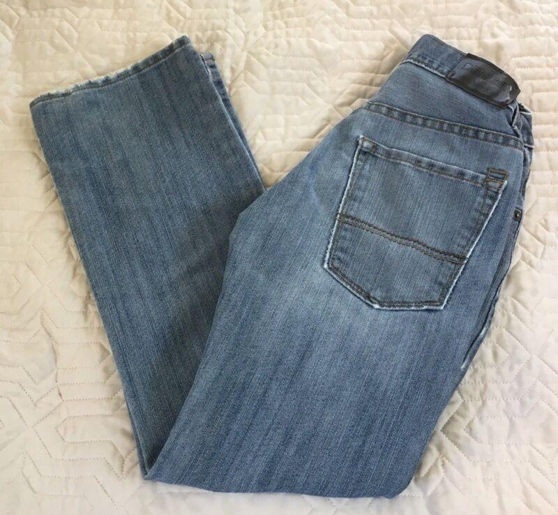 Denizen Levis 21& Slim Straight Leg Fit Light Boys Adjustable Waist 12 Regular