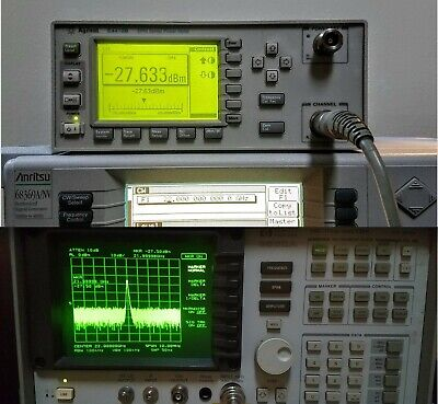 Hpagilent 8562a - Freshly Aligned And Caled - 22 Ghz Spectrum Analyzer