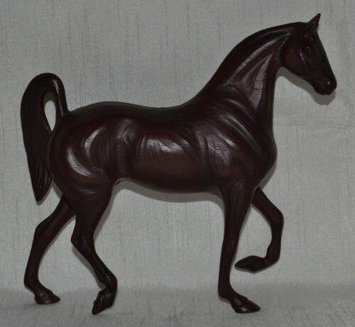 "Hartland Horse~1965-66~Cherry Woodcut 7"" Saddlebred Mare~Wood cut~RARE"