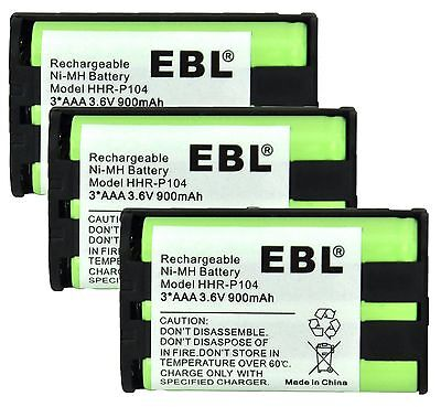 BEST Replacement Cordless Phone Handset Battery For Panasonic HHR-P104A/1