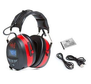 SKS 1190 Gehörschutz Bluetooth, FM Radio, 4G Speicher, AUX Anschluss, Kopfhörer