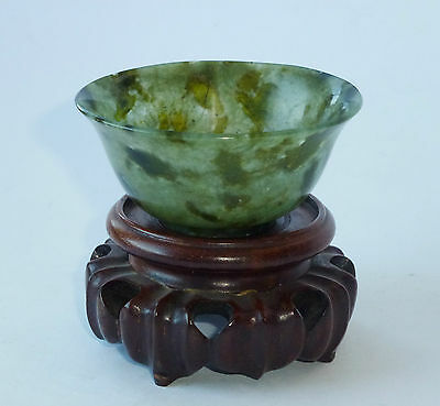 Rar China Jade Schale19 Jh? chinese jade cup bowl probably 19thC?