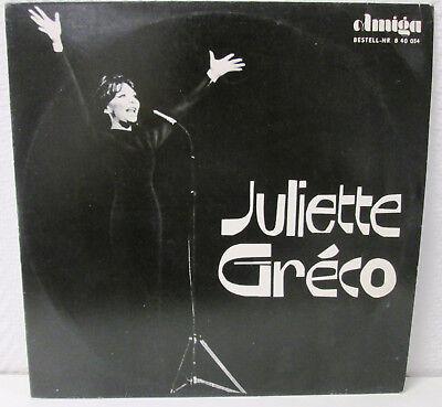 JULIETTE GRECO 12 AMIGA 840034 VINYL