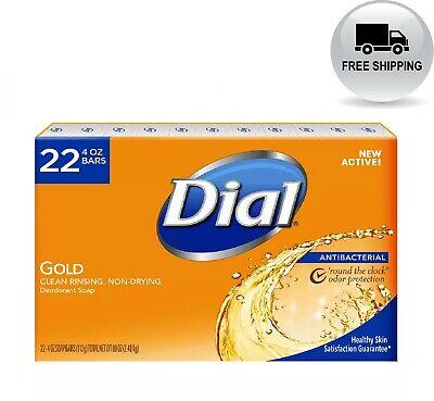 Dial Antibacterial Deodorant Soap, Gold (4 oz., 22 ct.) **Free Shipping**