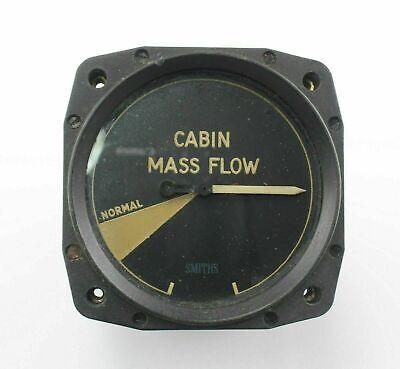 Cabin Mass (Air) Flow 6A/4571 D/162AS/PC Smiths Indicator Gauge Instrument RAF