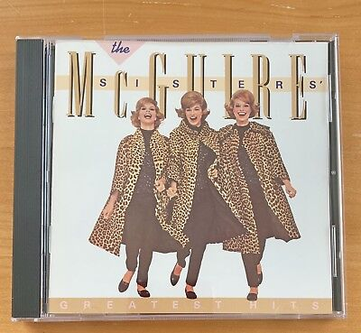 Greatest Hits CD by The McGuire Sisters - Sincerely - Goodnight Sweetheart