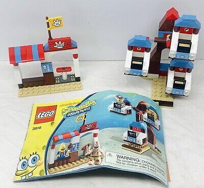 Lego Spongebob Squarepants Set GLOVE WORLD w/ Manual *No Minifigs* FAST SHIPPING