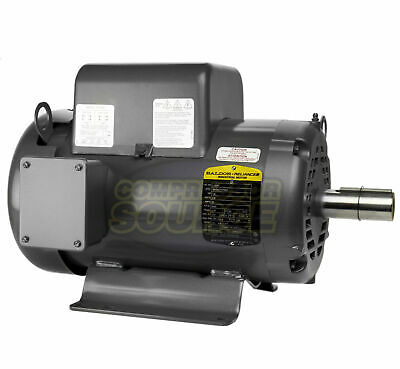 Baldor 7.5 Hp Electric Motor 3450 Rpm 213 T Frame 1 Ph Single Phase 208230 Volt