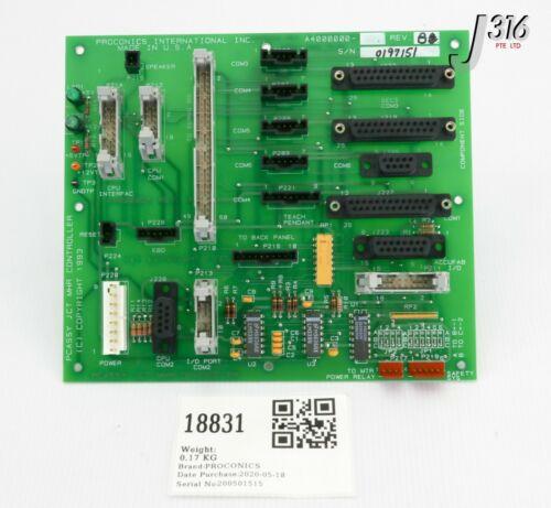 18831 Proconics Pcb, Pcassy Jct Mhr Controller, A4000005 A4000000-2