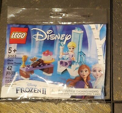 LEGO frozen 2 II Polybag Elsa's Winter Throne New