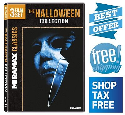 The Halloween Collection 3 Film Set Horror Scary Spooky Classic Movie - Halloween Dvds