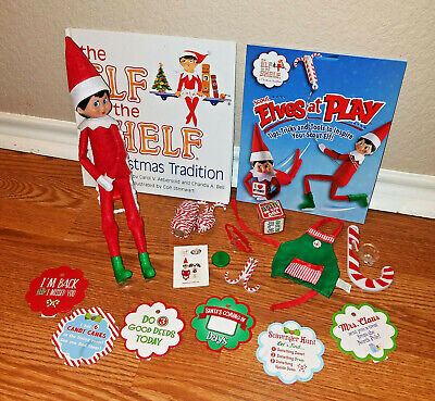 Elf On the Shelf Christmas Tradition Kit Books Girl Doll Accessories