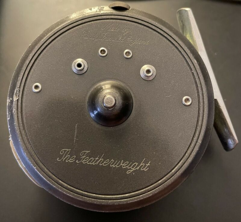 HARDY BROTHERS THE FEATHERWEIGHT FLY FISHING REEL - ENGLAND