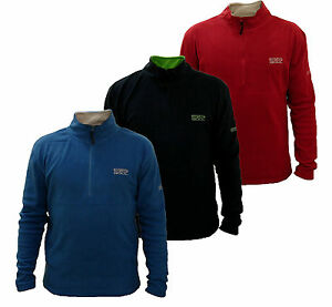 RRP-25-Mens-55-Soul-Half-Zip-Fleece-top-INCA-Sizes-S-XXL