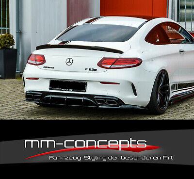 CUP SET Diffusor Ansatz für Mercedes C-Klasse AMG C63 C205 Stoßstange Einsatz