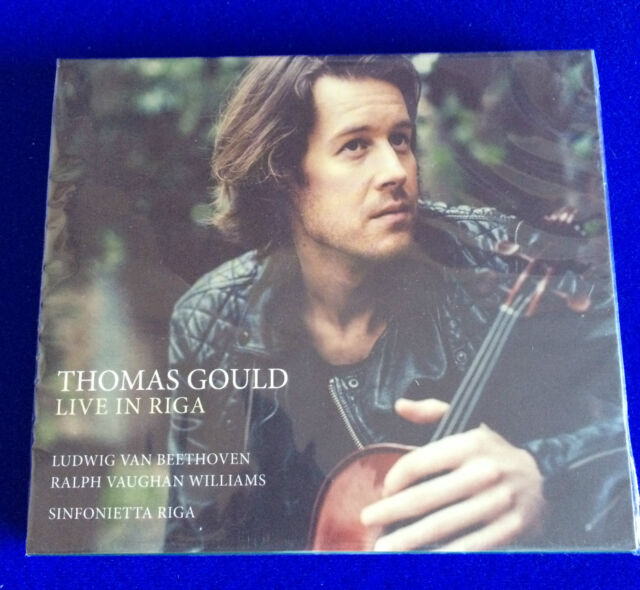NEW SEALED Thomas Gould Live in Riga Sinfonietta Riga Beethoven Williams CD 2015