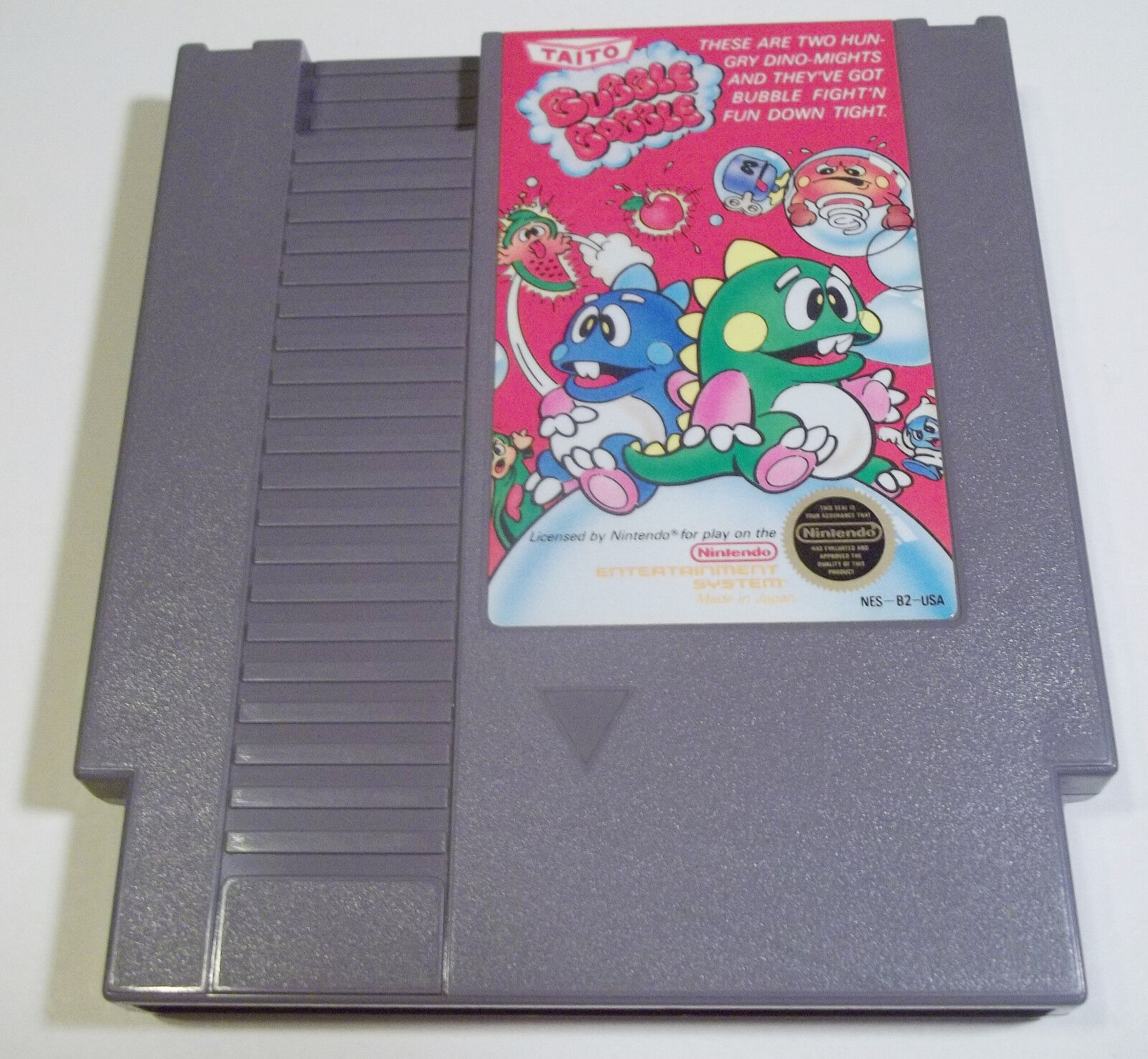 Bubble Bobble Nintendo 1988 Good Condition Taito NES Action Video Game - $25.47