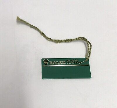 ROLEX Green Tag Hangtag Oyster Swimpruf W116178 SUBMARINER GMT EXPLORER 1994/95