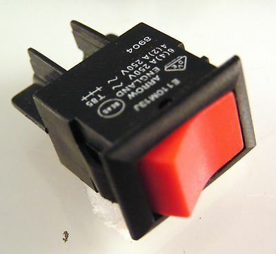 Arrow E110M13J Rot Schalter 6A 250VAC SPST On//Off  OM0293E