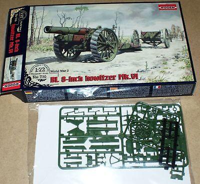 Roden 716 BL 8-inch Howitzer Mark VI in 1:72