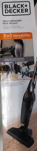 Black and Decker 3 In 1 Ultra Lightweight Stick Vacuum-BDXHHV005