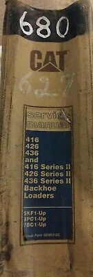 Cat 416 426 436 416 426 436 Series Ii Backhoe Loaders Service Manual.1990