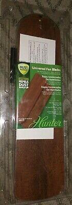 Hunter 5-Pack Dark Cherry and Rustic Lodge Ceiling Fan Blades Model # 26512