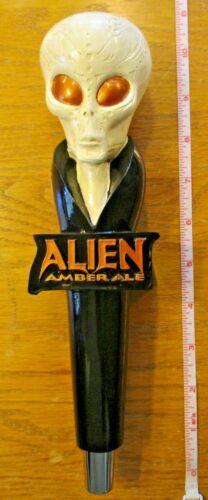 Beer Tap Alien Amber Handle Brand New