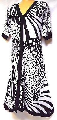 TS dress TAKING SHAPE VIRTU plus sz XXS / 12 'Damask' soft stretch NWT rrp$110!