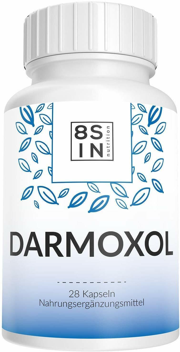 Darmoxol | Abführmittel | Verstopfung | 100%Natürlich | 28 Kapseln | DHL Versand
