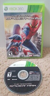 The Amazing Spider-Man 1 (Microsoft Xbox 360, 2012) Tested Fast Free Shipping