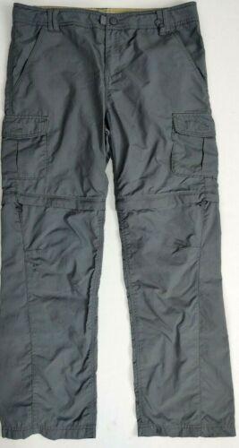 REI Girls Nylon Zip Off Pant / Short Hiking Pants   Youth Size XL (18)