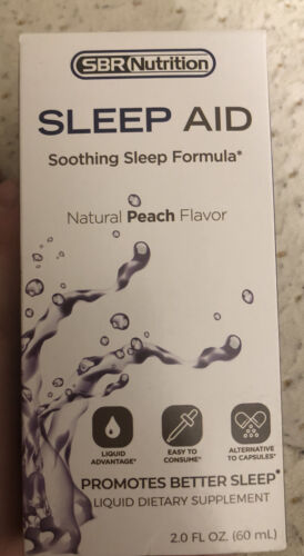 sleep aid drops melatonin suntheanine chamomile gaba