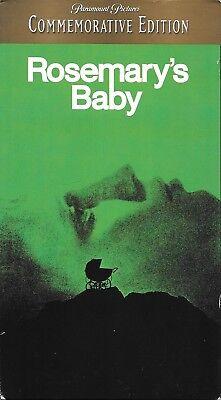 Rosemary's Baby (VHS) horror classic!