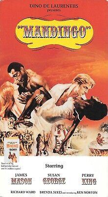 Mandingo (VHS) 1975 Rare Paramount Print! Southern Slavery Drama!