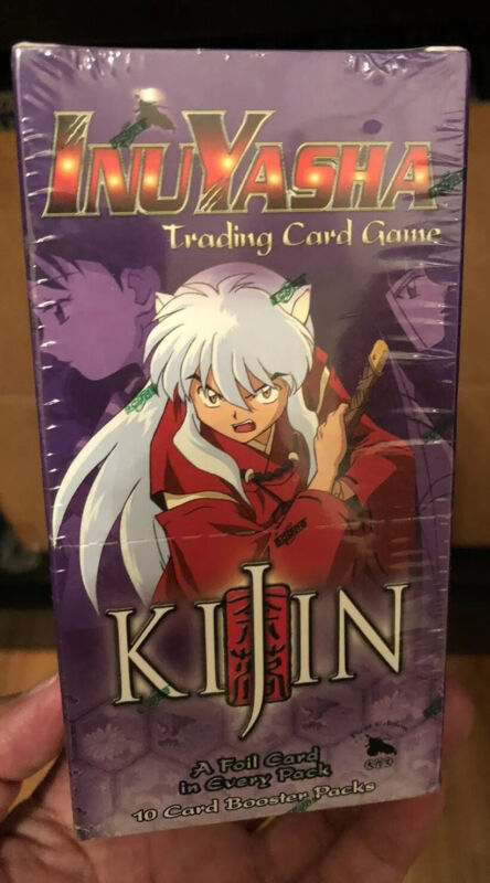 2005 New Sealed Booster Box w/ 12 Packs Incident Inuyasha Kijin TCG/CCG !