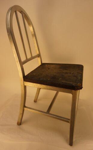 Vintage General Fireproofing Aluminum Chair