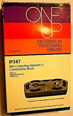 Ibm Correcting Selectric Ii Black Typewriter Ribbon Ip387 - New 4 Adler Bro Etc