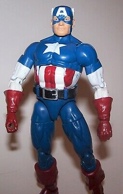 Marvel Legends Infinite Series Captain America Red Onslaught Series Figure