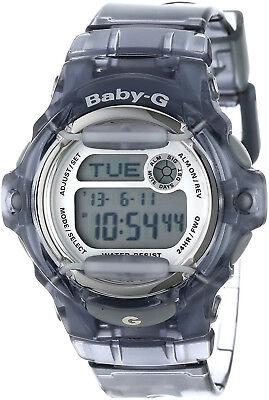 Casio Baby G Digital Dial Transparent Resin Ladies Watch BG169R-8