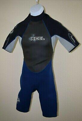 2577f2a4e8 Xcel Men s Springsuit Shorty Wetsuit Size Medium Superite Excellent!!!