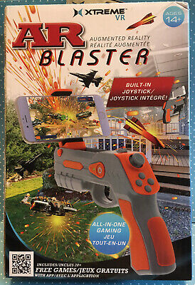 """AR Blaster XTREME VR All In One Smart Phone Gaming Built-In Joystick Phones 4/6"""""""