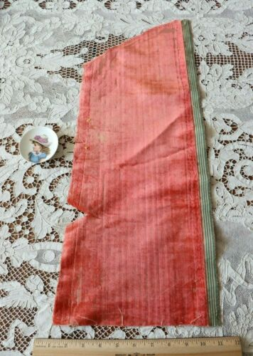 "Antique 1600s French Or Italian Silk Velvet Fabric~Dolls,Study~L-23""X W-9"""