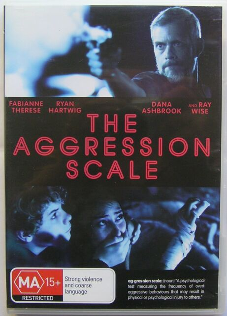 THE AGGRESSION SCALE  (2012) DVD MOVIE Ryan Hartwig, Fabianne Therese, Ray Wise