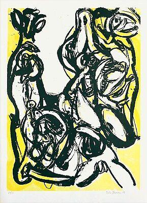 """Heiko Herrmann """"Schuld und Sühne I"""", 1989 Lithografie, handsigniert"""