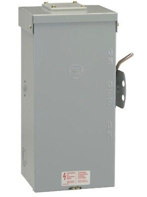 Ge 100amp 24000 Watt Outdoor Electrical Double Throw Safety Transfer Switch New