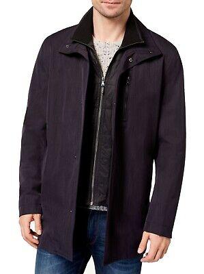 Michael Kors Mens Jacket Blue Size 40R Bayard Slim Fit Rainwear $395 158