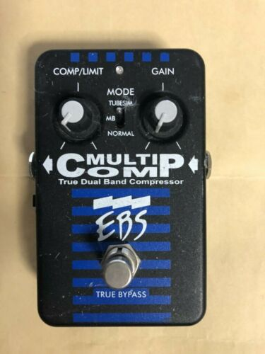 EBS Multicomp Compressor Guitar Effect Pedal FREE SHIPPING